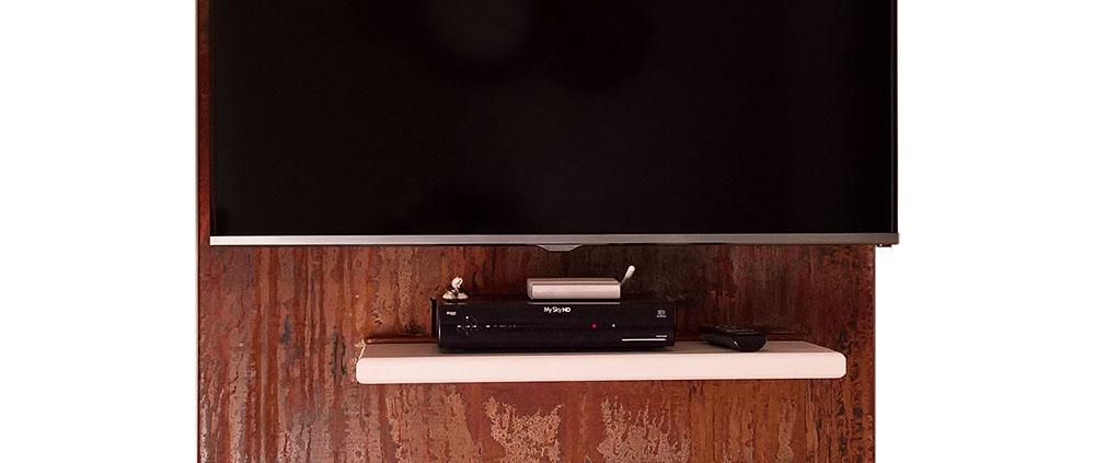 Porta TV in ferro