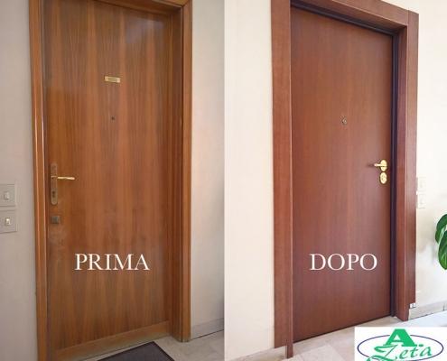 Porta blindata A.Zeta Serramenti